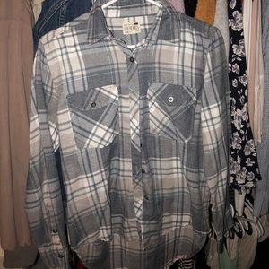 Plain flannel